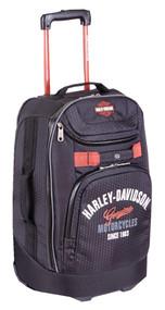 "Harley-Davidson 21"" Tail of The Dragon Carry-On Wheeling Luggage, 99820 Black - Wisconsin Harley-Davidson"