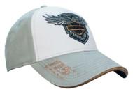 Harley-Davidson Women's 115th Anniversary Colorblocked Baseball Cap, BCC25963 - Wisconsin Harley-Davidson