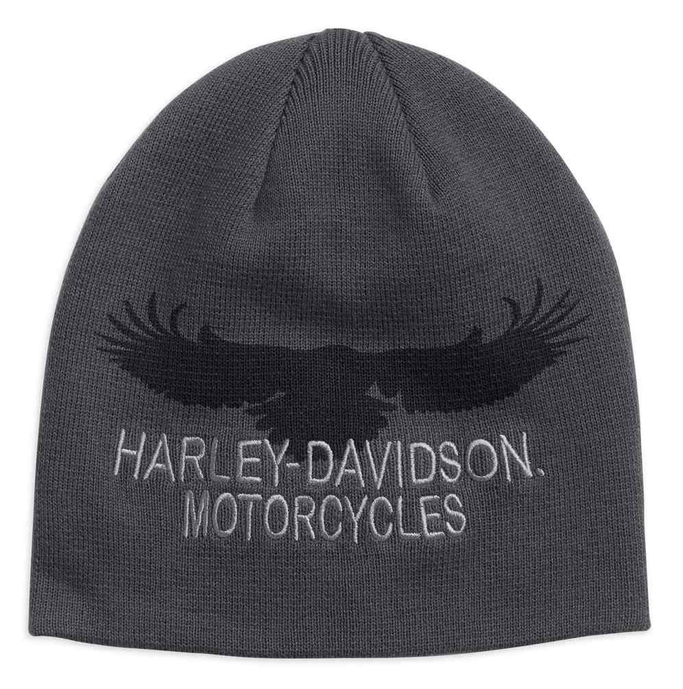 ab00a322033 Harley-Davidson® Men s Eagle Silhouette Knit Beanie Hat