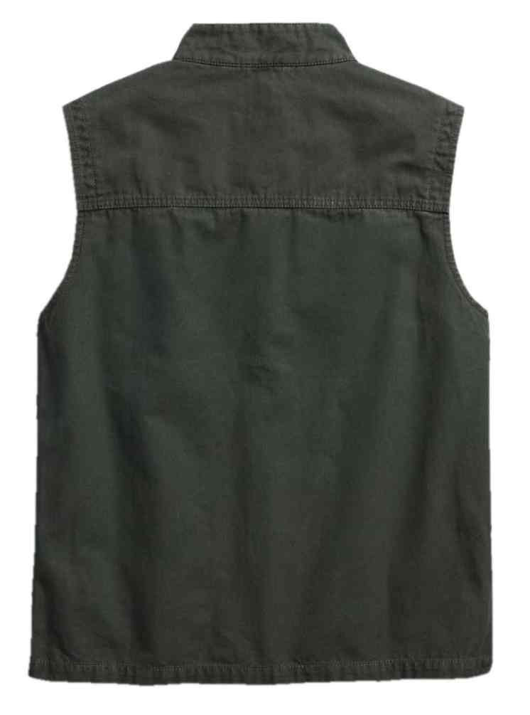 2311ec03e836 Harley-Davidson® Men s Slim Fit Canvas Safari Vest