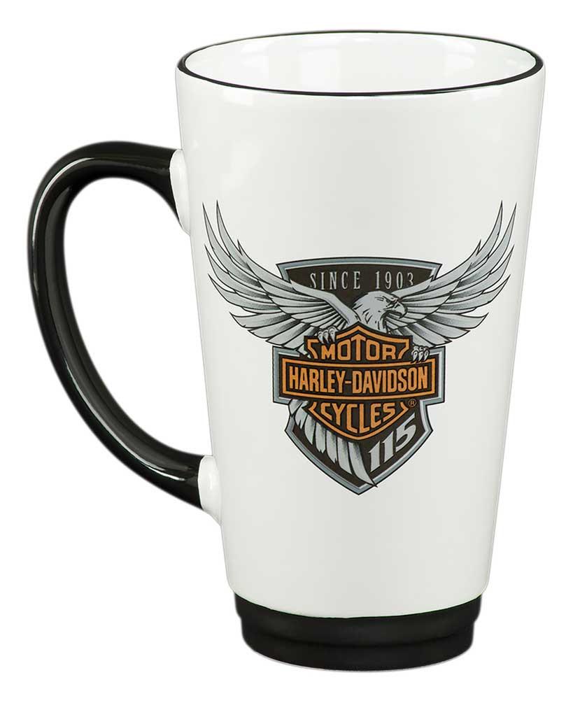 587546c6c27 Harley-Davidson 115th Anniversary Limited Edition Latte Mug, 16 oz.  HDX-98601