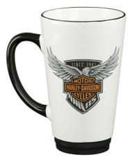 Harley-Davidson 115th Anniversary Limited Edition Latte Mug, 16 oz. HDX-98601 - Wisconsin Harley-Davidson