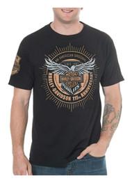 Harley-Davidson Men's 115th Anniversary Insignia Short Sleeve T-Shirt, Black - Wisconsin Harley-Davidson