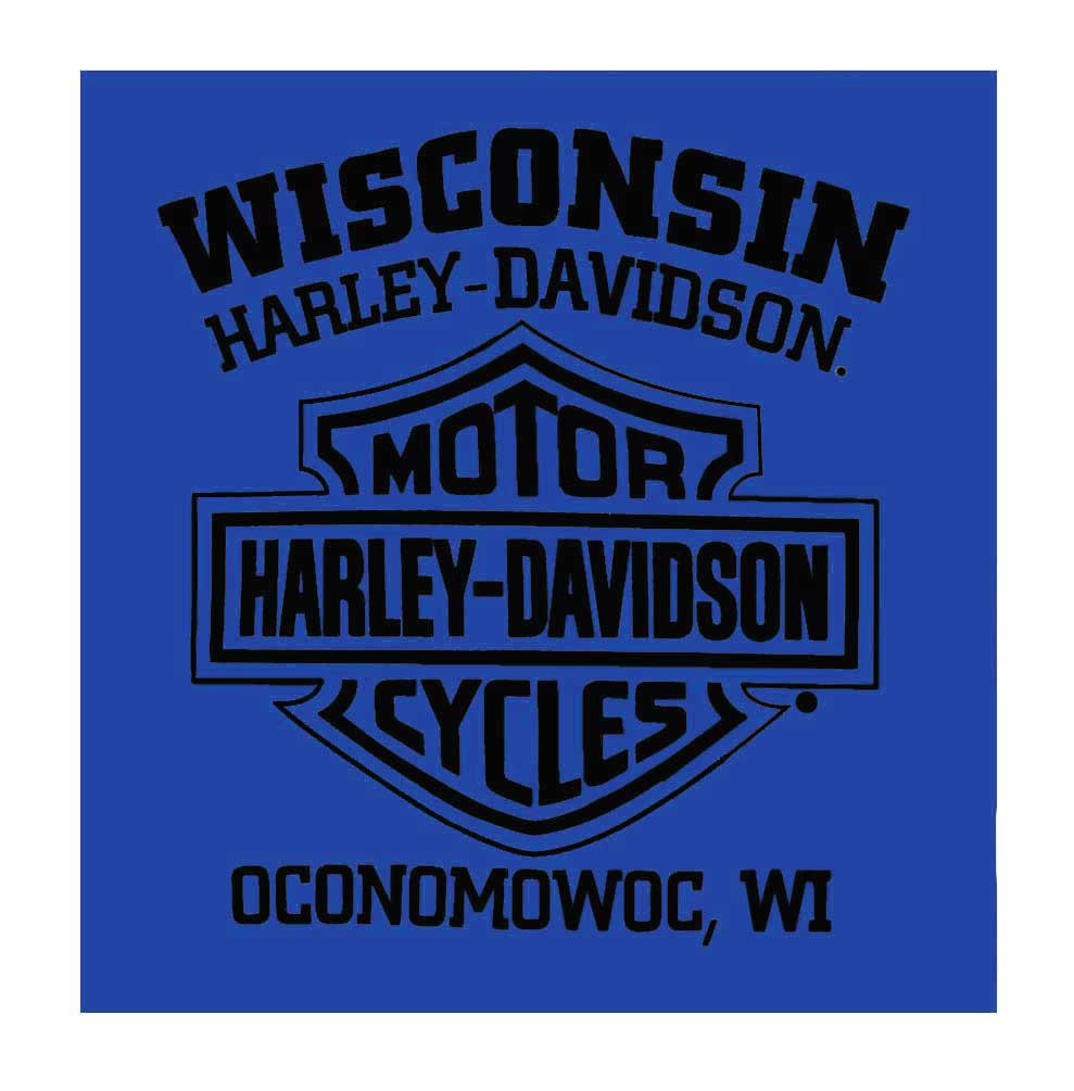 c156e73487b9 ... T-Shirt, Royal Blue. Harley-Davidson Free Shipping - Harley-Davidson  Men's Helmet Head Crew Neck Short Sleeve. See 1 more picture