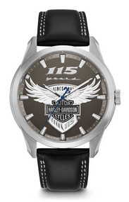 Harley-Davidson Men's 115th Anniversary Limited Edition Watch 76A160 - Wisconsin Harley-Davidson