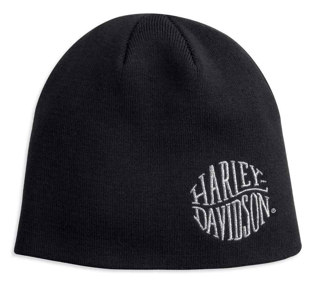 8f44f2d32f7 Harley-Davidson® Women s Metallic Embroidered Knit Beanie Hat