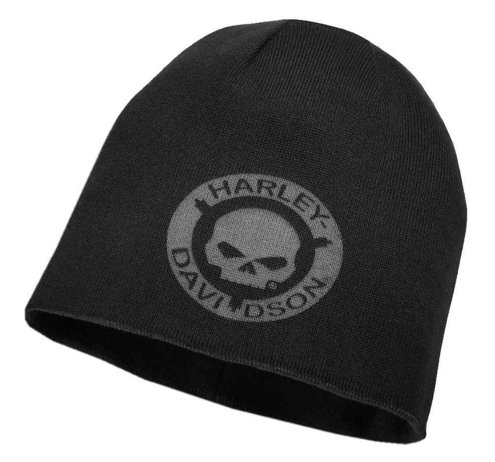 a45811287 Harley-Davidson® Men s Reversible HDMC Knit Beanie Hat