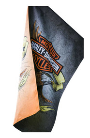 Harley-Davidson Suede Legendary Eagle House Flag, Double Sided 13S4920FB - Wisconsin Harley-Davidson