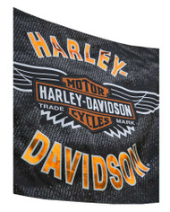 Harley-Davidson Vintage Bar & Shield Wings Estate Flag, Double Sided 17S4918 - Wisconsin Harley-Davidson