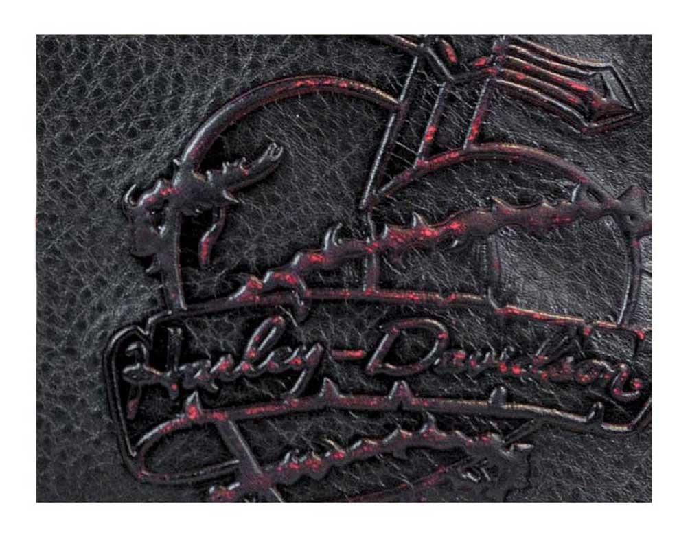 8a86856702a Harley-Davidson Women's Red Dagger Leather Crossbody Purse DG9239L-REDBLK -  Wisconsin Harley-