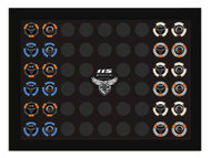 Harley-Davidson 115th Anniversary Collector's Poker Chip Frame, Black 6966 - Wisconsin Harley-Davidson