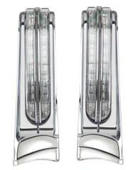 Ciro LED Light Filler Panels '14-up Harley-Davidson Ultra & Road King Motorcycle - Wisconsin Harley-Davidson