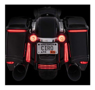 Ciro Bag Blades Low Profile LED Lights '14-up Harley w/o Controller, Amber 40009 - Wisconsin Harley-Davidson