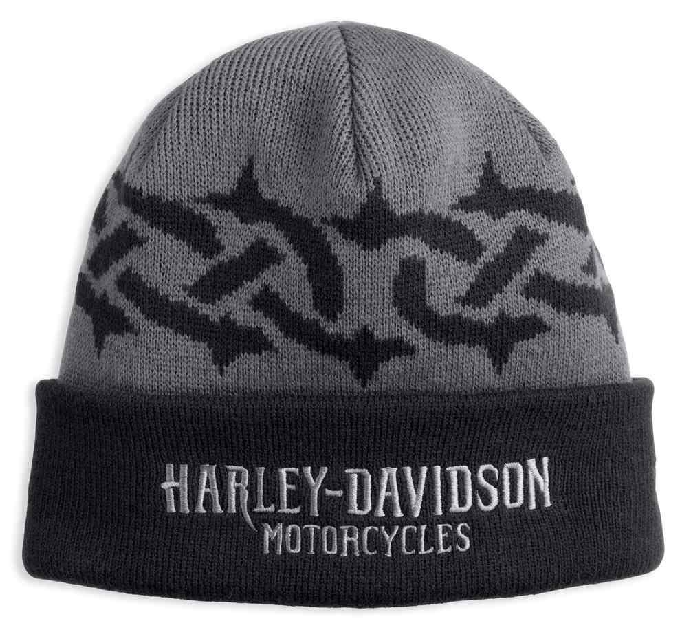 d5563342b88 Harley-Davidson® Men s Tribal Tire Tread Knit Beanie Hat