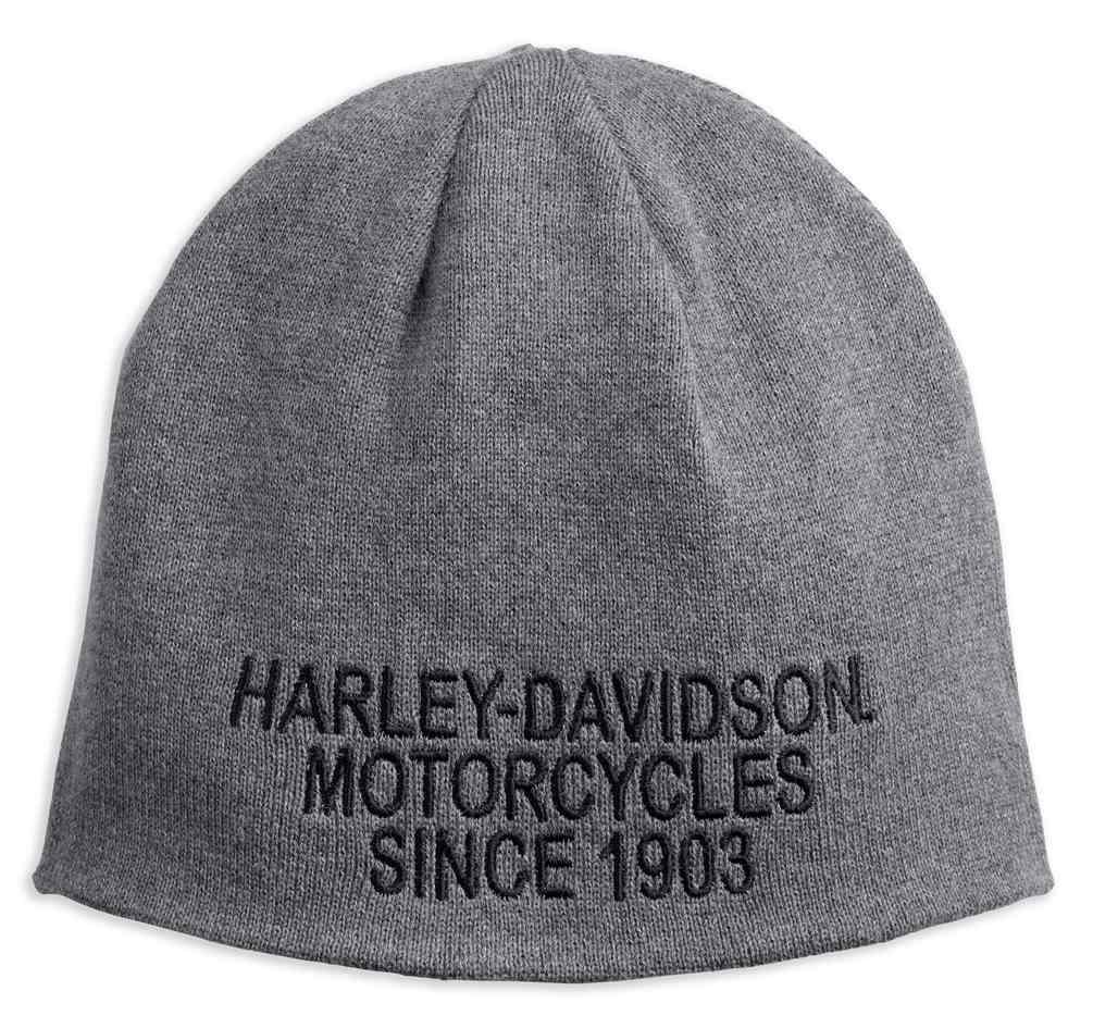 ffd5f2e7152 Harley-Davidson® Men s Reversible Striped Knit Beanie Hat