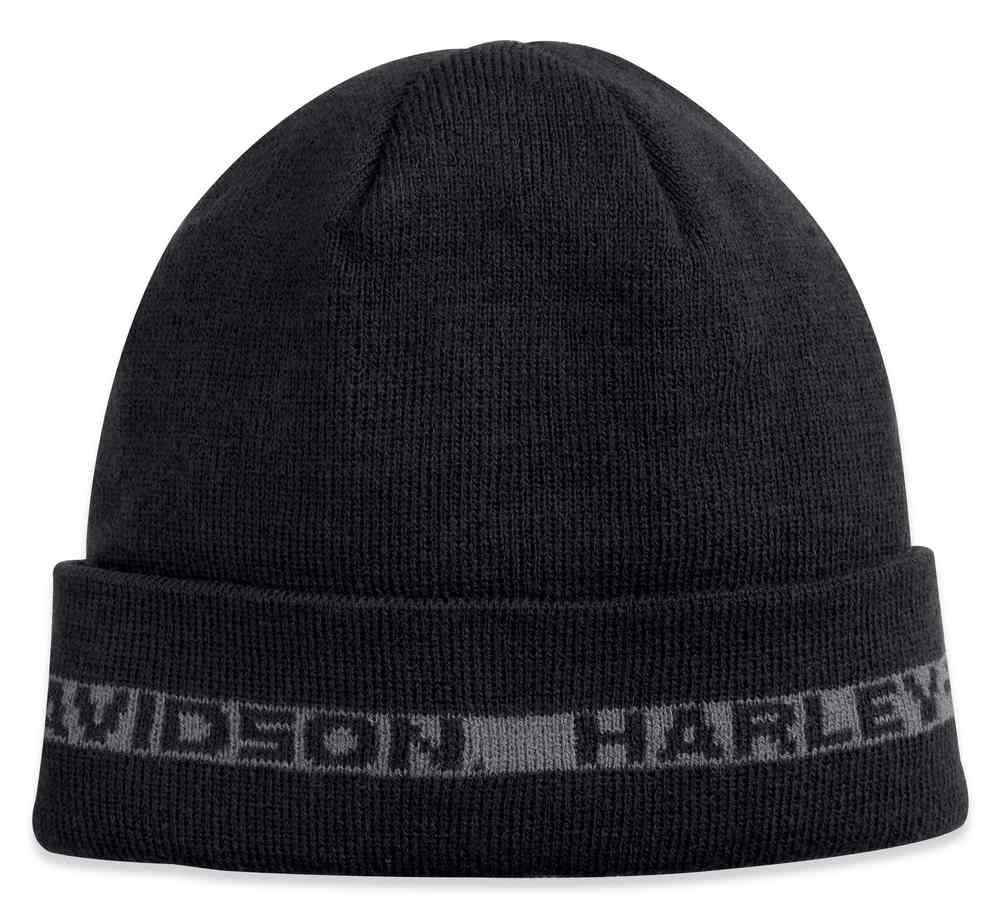 7508bdebd6b Harley-Davidson® Men s Fleece Lined Cuffed Knit Beanie Hat