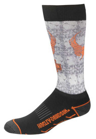 Harley-Davidson Men's Cushioned Performance Wool Riding Socks D99098370-002 - Wisconsin Harley-Davidson