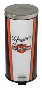 Harley-Davidson Nostalgic Bar & Shield Garbage Can, 11.5 x 25.25 inch HDL-19202 - Wisconsin Harley-Davidson