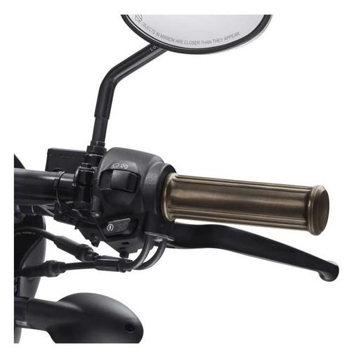 Harley-Davidson Brass Finish Hand Grips, Fits '15-later XG Models 56100138 - Wisconsin Harley-Davidson