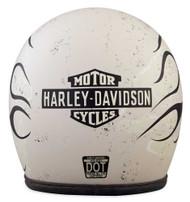 Harley-Davidson Men's 1903 Cherohala B01 3/4 Helmet, Turtledove White 98184-18VX - Wisconsin Harley-Davidson