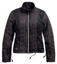 Harley-Davidson Women's Heated BTC 12V Quilted Jacket Liner, Black 98320-17VW - Wisconsin Harley-Davidson
