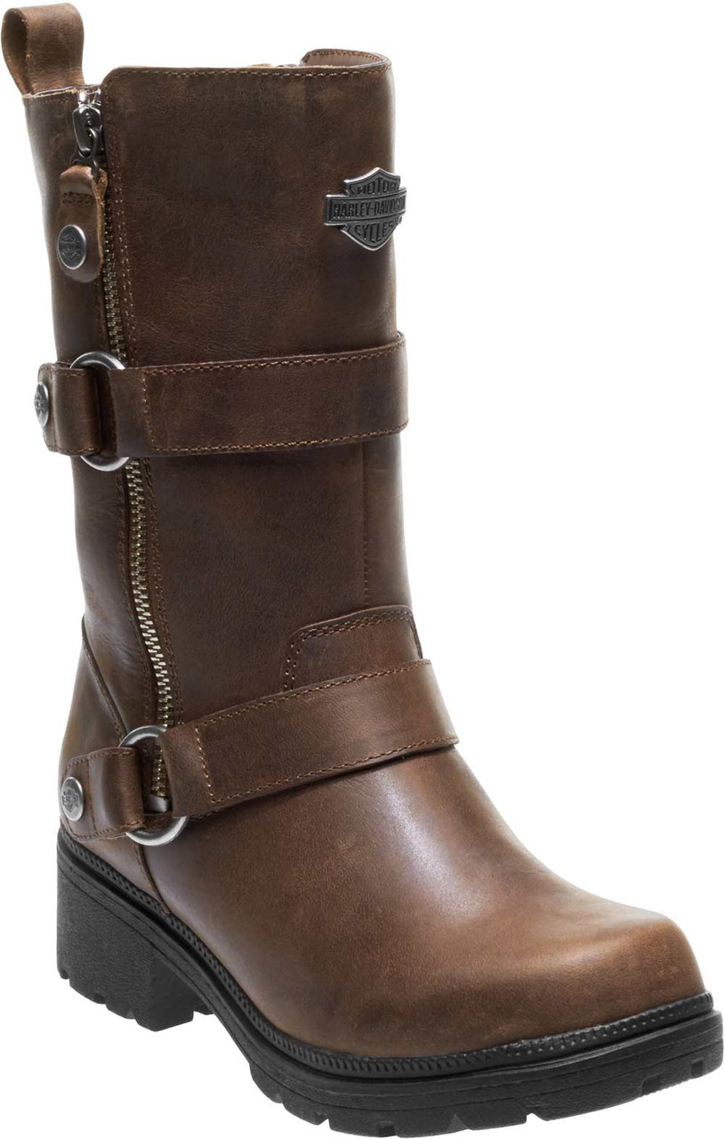 8453da2e74c6 Harley-Davidson® Women s Ardsley 8.25-In. Leather Motorcycle Boots ...