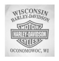 Harley-Davidson Men's Final Edition Performance Short Sleeve T-Shirt 5N38-HB4F - Wisconsin Harley-Davidson
