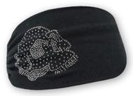 Harley-Davidson Women's Embellished Krystal Skull Headband Scrunchie HE26530 - Wisconsin Harley-Davidson