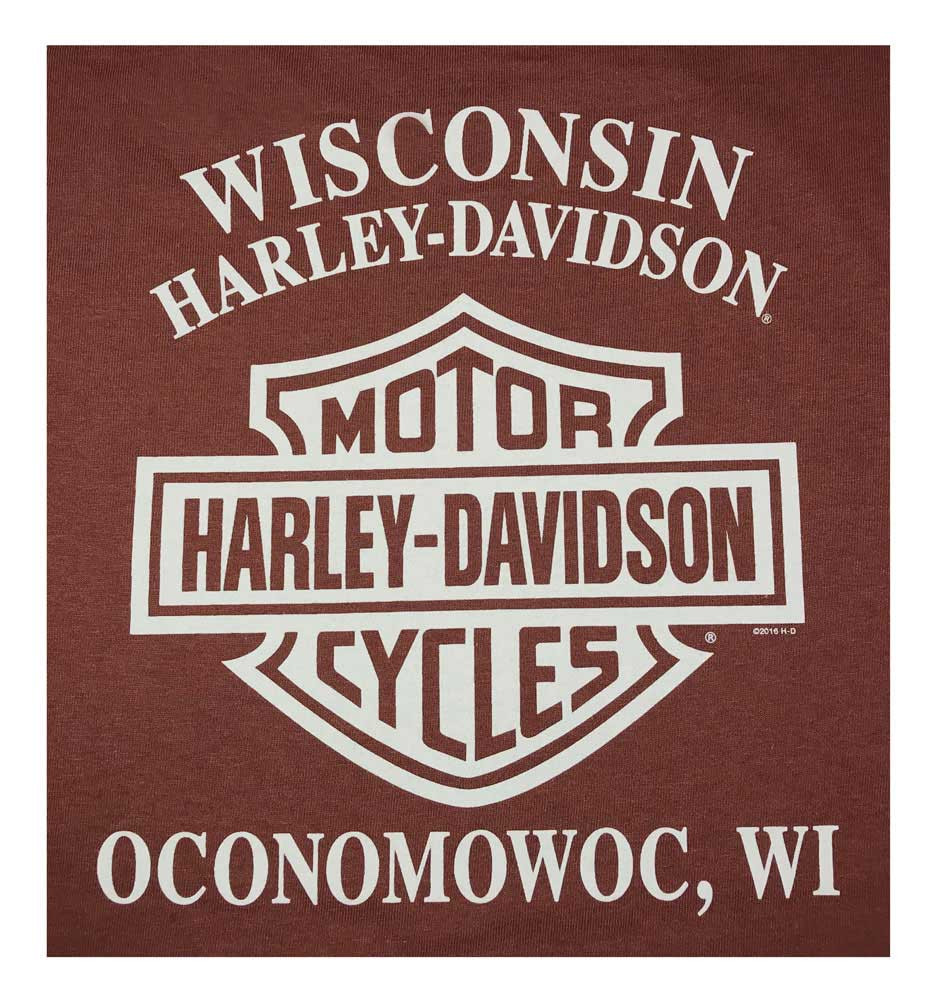 45e88f8e3b3 Harley-Davidson® Men s Concrete Frontier Long Sleeve Crew Neck Shirt ...