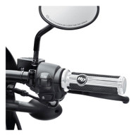 Harley-Davidson Defiance Hand Grips - Chrome Finish, Fits XG Models 56100222 - Wisconsin Harley-Davidson