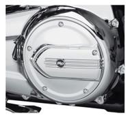Harley-Davidson Defiance Derby Cover - Chrome, Touring & Trike Models 25700571 - Wisconsin Harley-Davidson