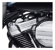 Harley-Davidson Defiance Upper Rocker Chrome Covers, Softail & Touring 25700663 - Wisconsin Harley-Davidson