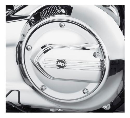 Harley-Davidson Defiance Derby Cover - Chrome, Dyna & Softail Models 25700703 - Wisconsin Harley-Davidson