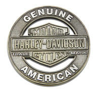 Harley-Davidson Trademark Cutout B&S Heavy-Duty Metal Magnet, 3 in. 8008543 - Wisconsin Harley-Davidson