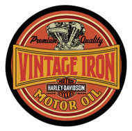 Harley-Davidson Vintage Iron Bar & Shield Embossed Tin Sign, 14 inch 2011491 - Wisconsin Harley-Davidson