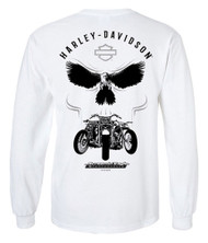 Harley-Davidson Men's Screamin' Eagle Illusion Long Sleeve Shirt HARLMT0281 - Wisconsin Harley-Davidson