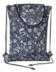 Harley-Davidson Gray Tattoo Sling Backpack, Sport Cloth 99667-GRAY TATTOO - Wisconsin Harley-Davidson