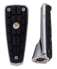Ciro CMX Footpegs Without Mount - Chrome or Black Finish, Sold in Pairs - Wisconsin Harley-Davidson