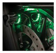 Ciro Fork Mounted Illuminators - Sold in Pairs, Fits '00-Up Touring Models 41009 - Wisconsin Harley-Davidson