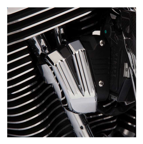 Ciro Servo Harness Cover, Fits '08-16 Harley Touring Models, Chrome Finish 70030 - Wisconsin Harley-Davidson