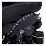 Ciro '14-up H-D Touring LED Bat Blades - Black, Easy Installation 45102 - Wisconsin Harley-Davidson
