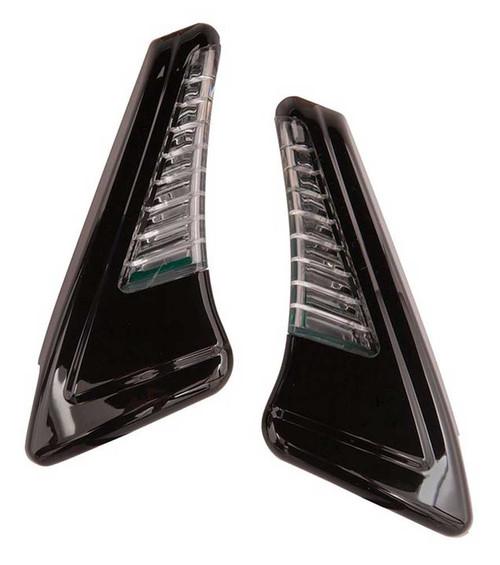 Ciro Snakeyes Custom Light Housing without Controller - Chrome or Black Finish - Wisconsin Harley-Davidson