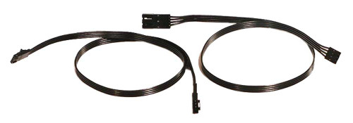 Ciro Shock & Awe 20 in. Extension Wires, Two Wires Plug Into Ciro Kit 41008 - Wisconsin Harley-Davidson