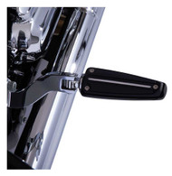 Ciro Rail Footpegs With Mount, Fits Harley Clevis, Chrome or Black Sold in Pairs - Wisconsin Harley-Davidson