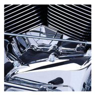 Ciro Cylinder Base Cover, Fits Harley Touring & Dyna Models, Chrome Finish 70100 - Wisconsin Harley-Davidson