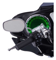 Ciro 21 Multi-Color LED Speaker Accents Fits Harley, Sold in Pairs, Chrome 42100 - Wisconsin Harley-Davidson