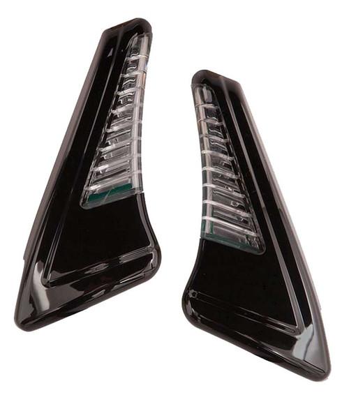 Ciro Snakeyes Custom Light Housing w/ Controller - Chrome or Black Finish - Wisconsin Harley-Davidson