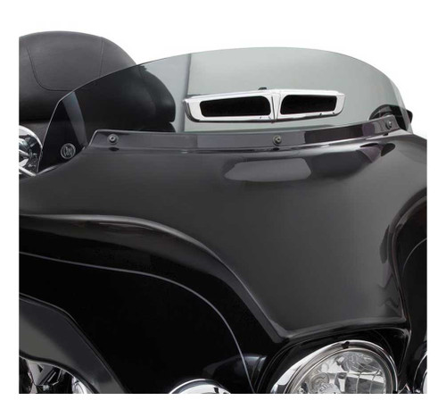 Ciro Panoramic Vented Windshield Harley Touring Models Light, Medium, Dark Smoke - Wisconsin Harley-Davidson