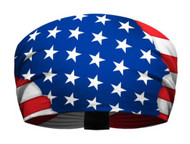 That's A Wrap Men's Born In The USA American Flag Knotty Band Headwrap KB1234 - Wisconsin Harley-Davidson