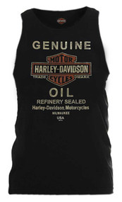 Harley-Davidson Men's Hardcore Legend Sleeveless Muscle Tank, Black 5L30-HE96 - Wisconsin Harley-Davidson
